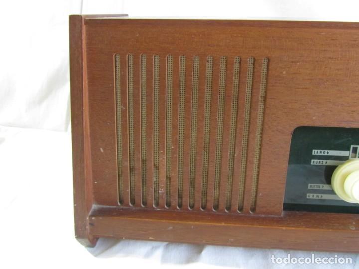 Radios de válvulas: Radio de madera y válvulas Siemens Spezialsuper TYP RB11, funcionando - Foto 5 - 252793940