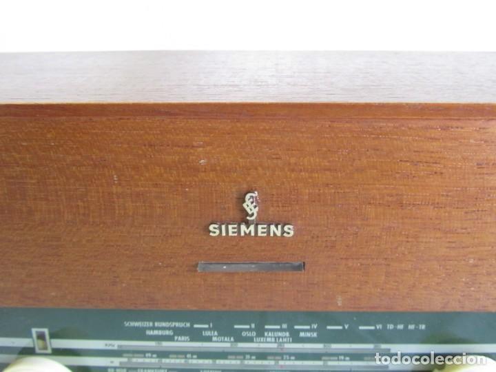 Radios de válvulas: Radio de madera y válvulas Siemens Spezialsuper TYP RB11, funcionando - Foto 6 - 252793940