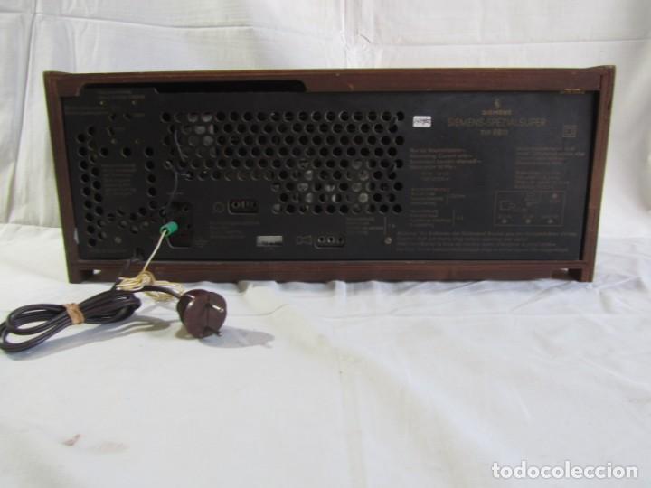 Radios de válvulas: Radio de madera y válvulas Siemens Spezialsuper TYP RB11, funcionando - Foto 9 - 252793940