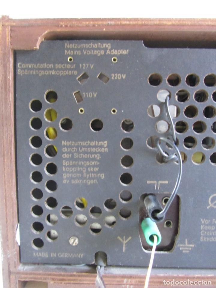 Radios de válvulas: Radio de madera y válvulas Siemens Spezialsuper TYP RB11, funcionando - Foto 11 - 252793940