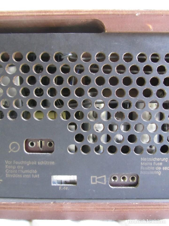 Radios de válvulas: Radio de madera y válvulas Siemens Spezialsuper TYP RB11, funcionando - Foto 12 - 252793940