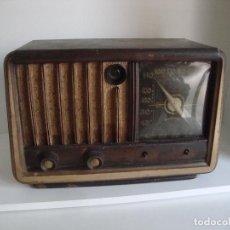 Rádios de válvulas: ANTIGUA RADIO DE MADERA VALVULAS ANDORSON PARA PIEZAS O RESTAURAR. Lote 252822985