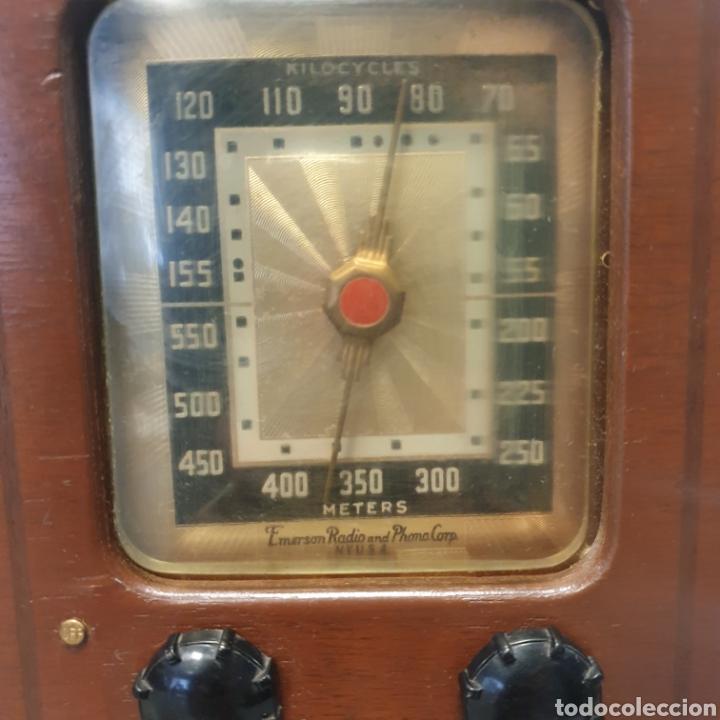 Radios de válvulas: Radio EMERSON BRISTOL COM - Foto 2 - 254287195