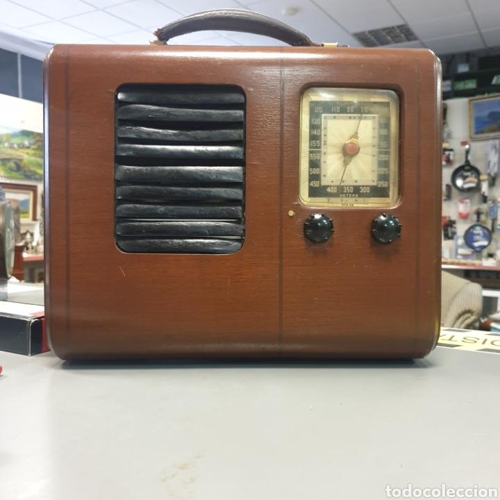 RADIO EMERSON BRISTOL COM (Radios, Gramófonos, Grabadoras y Otros - Radios de Válvulas)