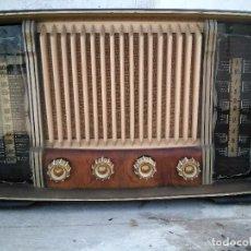 Radios de válvulas: ANTIGUA RADIO DE VALULAS FUNCIONANDO. Lote 254431195