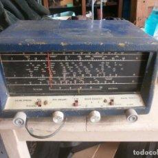 Radios de válvulas: ANTIGUA RADIO DE VALVULAS CHASIS DE HIERRO DOBLE DIAL, SIN MARCA 220V FUNCIONANDO 33X24 CM ALT 18 CM. Lote 254967905