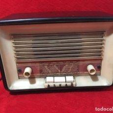 Radios de válvulas: RADIO DE VÁLVULAS DE BAQUELITA MARCA ASKAR. Lote 257386715