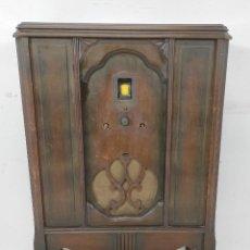 Radios de válvulas: ANTIGUO MUEBLE RADIO - MARCA STEINITE. Lote 257457505