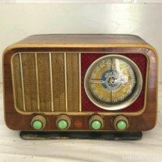 Radio a valvole: RARISIMA RADIO PEQUEÑA DE MADERA - ARGANY SUPER RADIO - MOD. A - 40. BIS, FUNCIONANDO. Lote 257801885