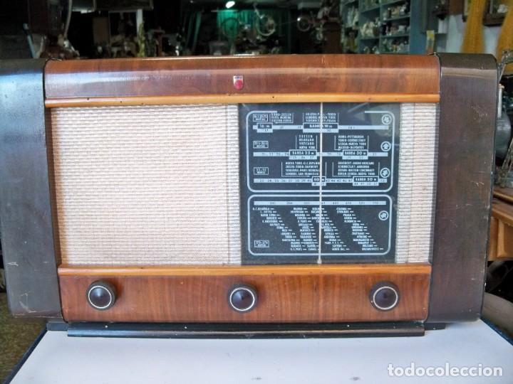 ANTIGUA RADIO PHILIPS BE-472-A (Radios, Gramófonos, Grabadoras y Otros - Radios de Válvulas)