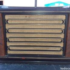 Radio a valvole: RADIO PHILIPS,BX565A, PARA PIEZAS O RESTAURAR... Lote 261110490