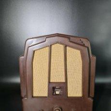 Radios de válvulas: MAGNÍFICA Y ANTIGUA RADIO DE VALVULAS ECKO M23, 1932, BAQUELITA, MAGNÍFICO ESTADO, ORIGINAL.. Lote 261828755