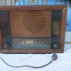 Radio a valvole: ANTIGUA RADIO TELEFUNKEN. FABRICACIÓN J.G. GIROD (S.A.E.) 1943.. Lote 262090240