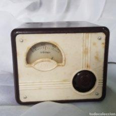 Radio a valvole: ANTIGUO ELEVADOR REDUCTOR TRANSFORMADOR DE CORRIENTE PARA RADIO ANTIGUA MARCA SEVEIN. Lote 262393080