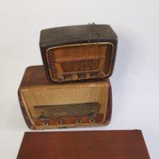 Radio a valvole: INTERESANTE LOTE DE ANTIGUAS RADIOS DE VÁLVULAS.. Lote 262724390