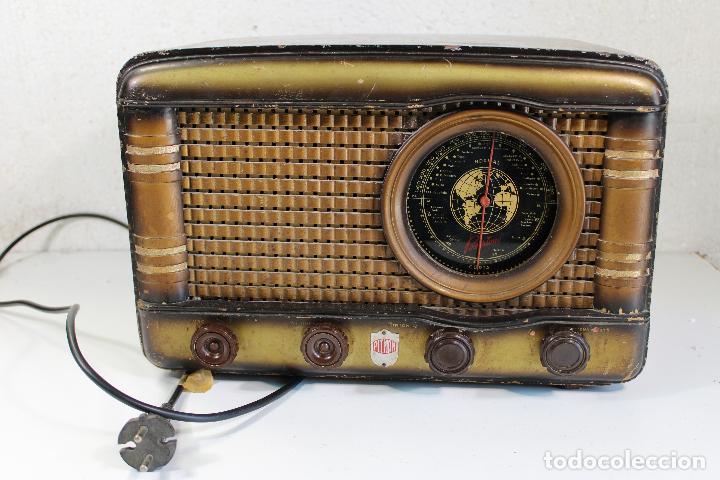 ANTIGUA RADIO PITMAN - ASENCIO QUIRANT GONZALVEZ (Radios, Gramófonos, Grabadoras y Otros - Radios de Válvulas)