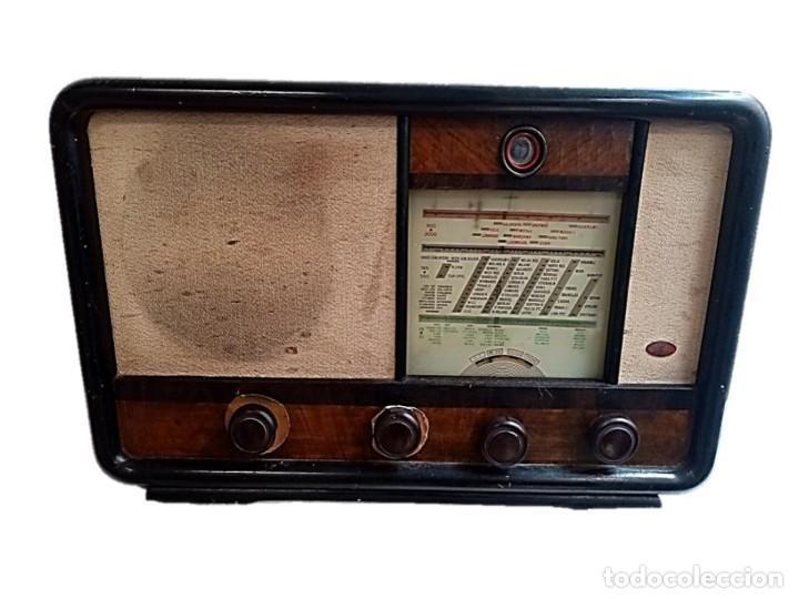 RADIO 5 VALVULAS SBR MODELO 1231 SOCIEDAD BELGICA DE RADIO AÑOS 50 (Radios, Gramófonos, Grabadoras y Otros - Radios de Válvulas)
