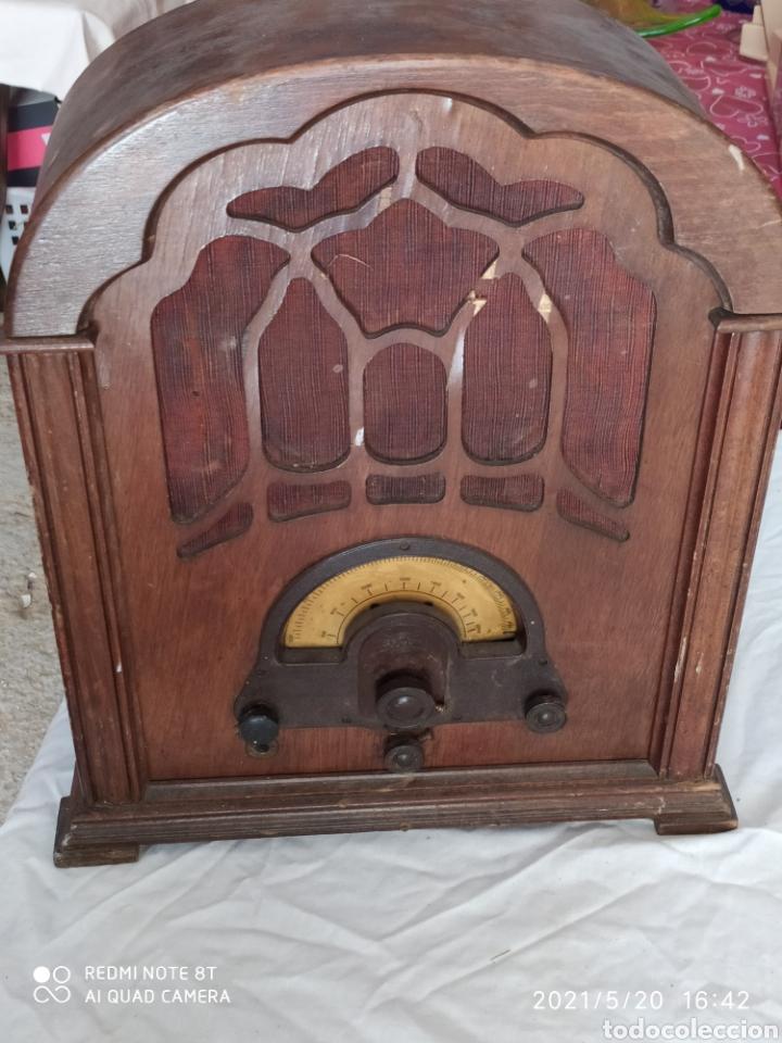 RADIO DE CAPILLA (Radios, Gramófonos, Grabadoras y Otros - Radios de Válvulas)