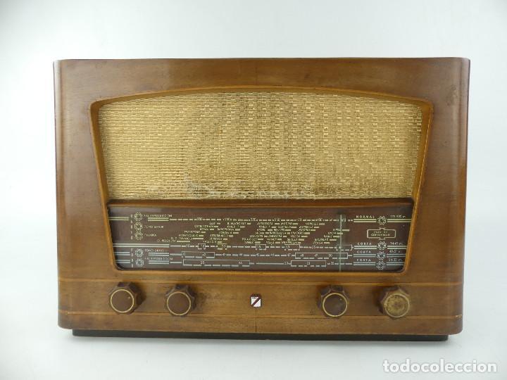 ANTIGUA RADIO DE VALVULAS CASTILLA MODELO H-216-A (Radios, Gramófonos, Grabadoras y Otros - Radios de Válvulas)