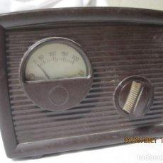 Radios de válvulas: ANTIGUO VOLTÍMETRO ESTABILIZADOR ELEVADOR REDUCTOR DE CORRIENTE MARCA ALEJANDRO SOLER. Lote 265175239