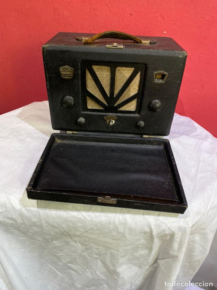 ANTIGUA RADIO WINDSOR DE VALVULAS RARA . VER FOTOS (Radios, Gramófonos, Grabadoras y Otros - Radios de Válvulas)