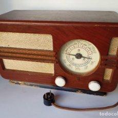 Radios de válvulas: RADIO PHILIPS TIPO BE382-A. Lote 266274258