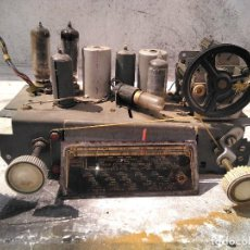 Radio a valvole: CHASIS DE RADIO ANTIGUA TELEFUNKEN COMPLETO. Lote 267836999
