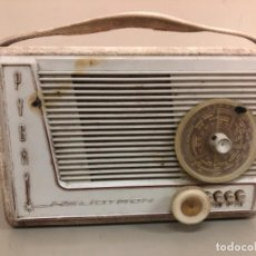 Radios de válvulas: RADIO ANTIGUA PYGMY HELIOTRON 1959. Lote 268298959