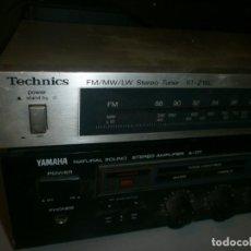 Radios de válvulas: YAMAHA NATURAL SOUND ANPLIFIER MODELO A-07 MEDIDA 44X30X9 CM. FUNCIONANDO PROBADO CON RADIO. Lote 268427794