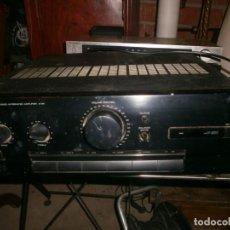Radios de válvulas: AMPLIFICADOR VINTQAGE AMPLIFIER KENWOOD STEREO INTEGRATET MODELO A-34 MEDIDA 36X36X12 CM FUNCIONANDO. Lote 268429054