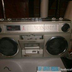 Radios de válvulas: RADIO CASSETTE RECORDER CONTEC 8080 2-S RADIO FUNCIONA, CASSETTE MUEVE PERO NO SUENA 43X12 ALTURA 22. Lote 268432559