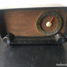 Radios de válvulas: RADIO DE BAQUELITA ZENITH MOD. G 513 (RARA). Lote 268916119