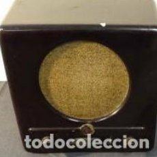 Radio a valvole: ANTIGUA CAJA DE ALTAVOZ VACÍA Y EN MAL ESTADO. Lote 268970749