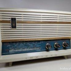 Radios de válvulas: RADIO DE VÁLVULAS INVICTA 4391 FM 1968 -FUNCIONANDO--MUY CUIDADA-VER VIDEO. Lote 269226113