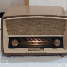 Radios à lampes: ESPECTACULAR RADIO ANTIGUA ALEMANA (NORDMENDE) FUNCIONA. Lote 269253618