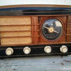 Rádios de válvulas: ANTIGUA RADIO DE VALVULAS FUNCIONANDO. Lote 269739788