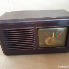 Radios de válvulas: RADIO INVICTA, MODELO 137 PARA REPARAR O PIEZAS. Lote 270179733