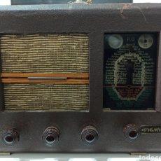 Rádios de válvulas: EXTRAÑA RADIO DE VÁLVULAS. Lote 270870408
