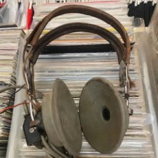 Radios de válvulas: ANTIGUOS AURICULARES MILITARES ANB-H1 USA UTAH CHICAGO TAL VEZ DE LA SEGUNDA GUERRA MUNDIAL WW2. Lote 272193803