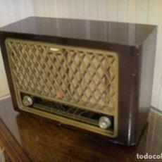 Radios à lampes: GRAN RADIO FRANCÉS PHILIPS MOD BF 442 A AÑO 1954 ¡¡POR FAVOR LEAN TODO!!. Lote 272651198