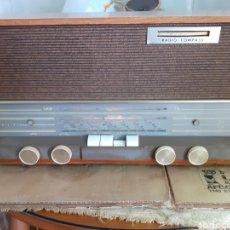 Radios de válvulas: RADIO PHILIPS B3X42A , FUNCIONANDO.. Lote 272992258