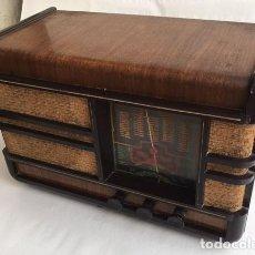 Rádios de válvulas: RADIO RECEPTOR FRANCÉS. Lote 273093123