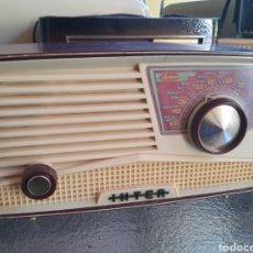 Radios de válvulas: RADIO INTER .MODELO ALBA . NO ENCIENDE. Lote 273440048