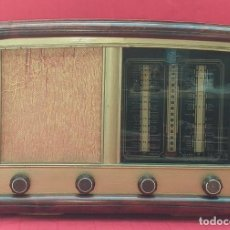 Radios de válvulas: ANTIGUA RADIO DE VÁLVULAS. Lote 273619883