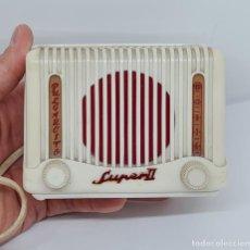 Radios à lampes: CURIOSO RADIO CRADIAL EN MINIATURA,SUPER II,PULGARCITO EN BAKELITA,1950. Lote 274563873
