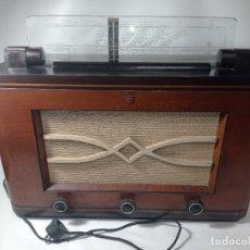Radios de válvulas: MAGNÍFICA RADIO DE VÁLVULAS PHILIPS ANTIGUO NO COPIA REF240. Lote 275030598