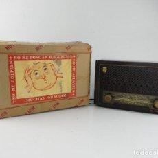 Rádios de válvulas: ANTIGUA RADIO PHILIPS - MOD BE-212-U. Lote 275183658