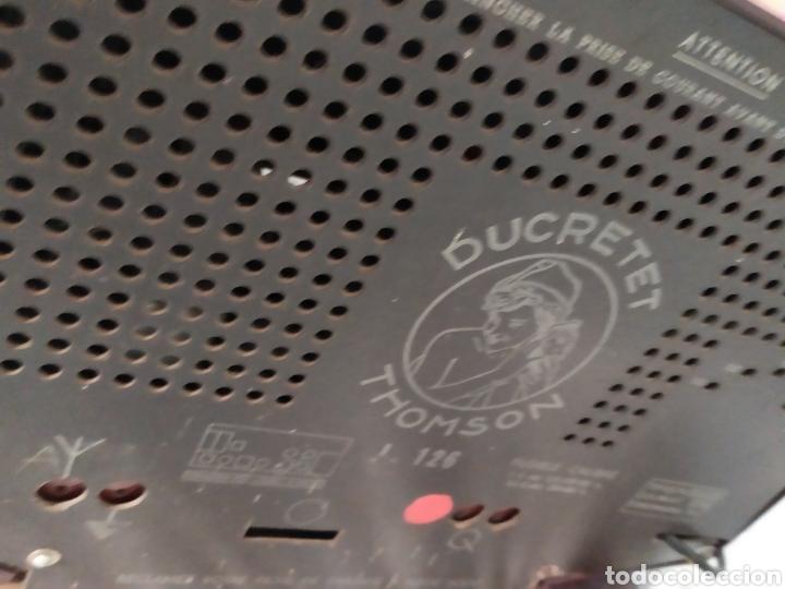 Radios de válvulas: Raga radio antigua de válvulas ducretet Thomson - Foto 5 - 276151253