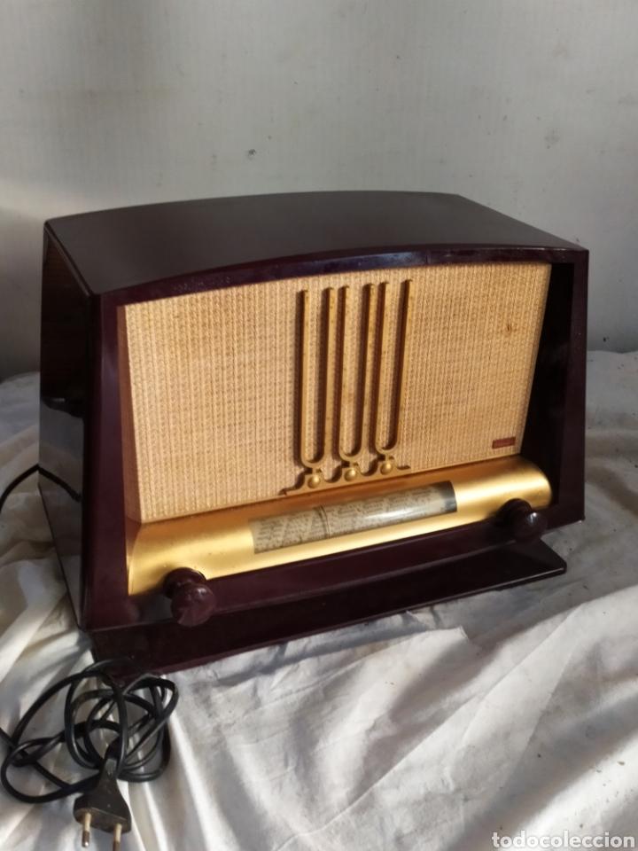 RAGA RADIO ANTIGUA DE VÁLVULAS DUCRETET THOMSON (Radios, Gramófonos, Grabadoras y Otros - Radios de Válvulas)