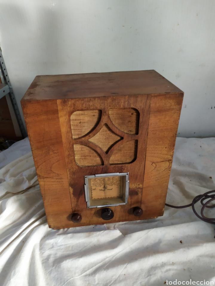 Radios de válvulas: Antigua radio catedral de válvulas años 20 - Foto 2 - 276151313